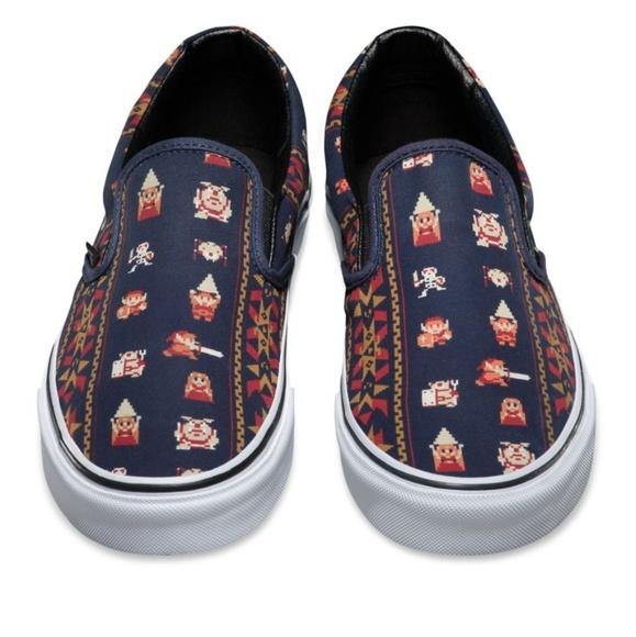 vans shoes legend of zelda slip on nwob never worn poshmark